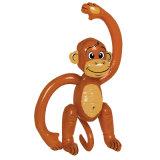étalage gonflable drôle de singe de PVC de 100cm