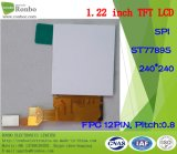 """1.22 """" moduli di piccola dimensione dell'affissione a cristalli liquidi di 240*240 Spi 12pin Digitahi TFT"""