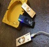 Zigaretten-Feuerzeug LED beleuchtet USB Aufladungs-Handfinger-Spinner-Spielwaren