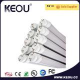 Lámpara los 2FT del tubo de PC+Aluminum T8 LED los 3FT los 4FT los 5FT