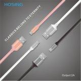 2017 модный ПВХ мягкие резиновые Micro-USB кабель передачи данных на высокой скорости