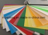 Transparente o colorido PP Hoja Correx sólida, Corflute, Coroplast/sólido junta