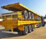 rimorchio del contenitore di 40FT, rimorchio a base piatta, camion del contenitore