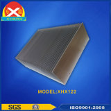 Disipador de calor de aluminio de alta potencia con tecnología de soldadura por presión