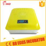 Hhd Nouvelle base de mousse de marquage Ce mini-incubateur d'oeufs de poulet Transparent EW-88