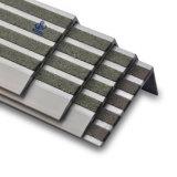 Алюминий уравновешивания настила и лестница Nosings карборунда