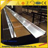 Fabricante de alumínio perfil de alumínio personalizado da extrusão do entalhe de T