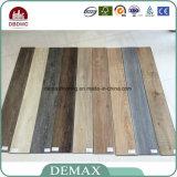 Plancher en bois de PVC de la meilleure glissade d'intérieur des prix d'étages anti