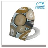 Gesundheitlicher Duroplast Toiletten-Sitz Soem-mit Kopfstein-Muster
