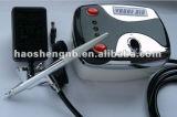 HS08 3ACSkエアブラシの構成または化粧品または入れ墨または釘キットのための小型空気圧縮機