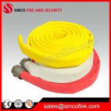 Красочные полиэстер куртка PVC подкладка пожарных шлангов