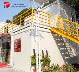 Modulaire Huizen die Kleur aansteken die LEIDENE Gloeilamp veranderen