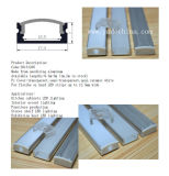 11mm Wall Recessed Mounted LED Aluminum Profile for LED Light Bar Kitchen Cabinet