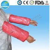 처분할 수 있는 PE 소매 덮개 또는 방수 의학 소매 덮개 또는 Oversleeve