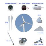 Générateur de vent horizontal de l'axe 1kw 48V d'énergie de substitution pour l'usage à la maison