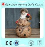 Supporto del bastone della candela del Babbo Natale della decorazione di natale