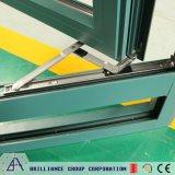 Aluminiumlegierung-Doppeltes glasig-glänzendes Fenster