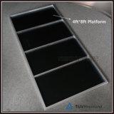 Étape extérieure d'étape mobile portative en aluminium à vendre