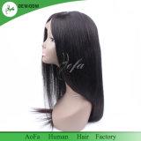 Aofaの人間の毛髪の工場供給の最もよい人間の毛髪のレースの前部かつら