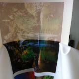 papier visqueux/collant de 100GSM/70GSM de sublimation de transfert pour des vêtements de sport/usure active