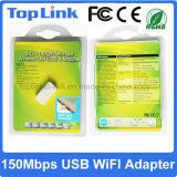 Mini adaptador sin hilos vendedor caliente del USB 150Mbps del bajo costo Rt5370 con la FCC del Ce