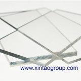 Placa acrílica clara Placa extruida Hoja PMMA para estantería de exposición