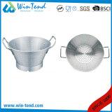 Küche-Chef-Abfluss-Grobfilter mit Unterseite und zwei befestigtem Griff