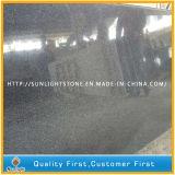 Granit Polished bon marché de noir foncé de G654 Padang pour des tuiles/brames/opérations