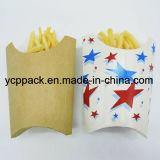 Установите флажок продовольствия бумаги крафт-белой бумаги лоток