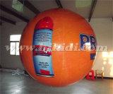 カスタムロゴの膨脹可能な円形PVCヘリウムの気球K7064