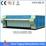 ロールアイロンをかける機械商業Flatwork Ironerは製造する(3000mmのアイロンをかける幅)