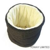 Bâtis de corail mous de crabot de velours de sac de couchage de crabot de produits d'animal familier de qualité
