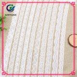 Preiswerte weiße Stickerei-Zutat-Spitze-chemische Spitze-Stickerei-Spitze-Entwürfe