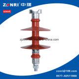 Isolador de tipo Pin-Type 24kv 11 Kn (Fpq-24/11) para transmissão de alta tensão