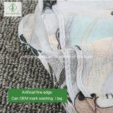 Повелительница Шарф способа Paintedshawl сыча шаржа 100% Viscose самая новая