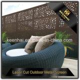 Comitati di alluminio della rete fissa del giardino del metallo del taglio del laser ricoperti polvere della decorazione del giardino della villa