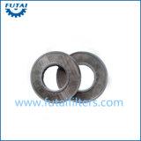 フィラメントの回転およびファイバーのための焼結させた金属フィルター
