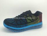 Chaussures de course à air respirant Flyknit Air Cushion pour adultes