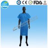 Wegwerflokalisierungs-Kleid-Krankenhaus-Kleid/Besucher-Kleid