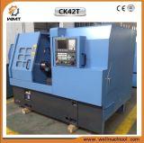 자동적인 금속 절단을%s 중국 CNC 선반 기계장치 Ck42t