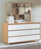 Moderne Art-festes Holz-Hotel-Ausgangsschlafzimmer-Möbel