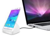 Samsung 은하 주 4를 위한 선창 테이블 충전기 도킹 스테이션