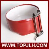 Sublimación de cerámica del tazón de fuente del animal doméstico de la impresión de la marca de fábrica de la insignia