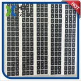 Lentilles de découpage de feuille d'isolation d'animal familier de PVC