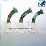 Nette Glasstärke der Huka-3mm, freies Farben-Glas Shisha