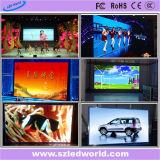 Innenfarbenreiches druckgießenbildschirmanzeige-Mietzeichen Digital lED-P3 für das Bekanntmachen (CER, RoHS, FCC, CCC)