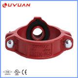 T meccanico Grooved del ferro duttile di alta qualità (FM/UL)