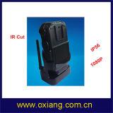1080P una macchina fotografica portata ente grandangolare delle 130 di grado polizie di GPS GPRS