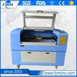 Mini máquina de estaca da gravura do laser do CO2 para o couro do acrílico/pano/placa de madeira