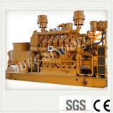 Малые обороты двигателя биомассы газогенератора 30квт